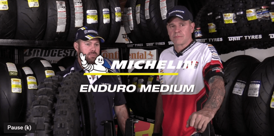 Bike Tyre Warehouse YouTube Video Michelin Enduro Medium