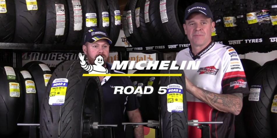 Bike Tyre Warehouse YouTube Video Michelin Road 5