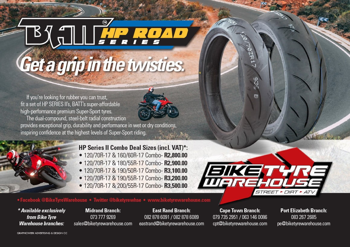 xBike Tyre Warehouse – Moto Rider World Magazine 20200709 – Batt Ultra HP Series 102