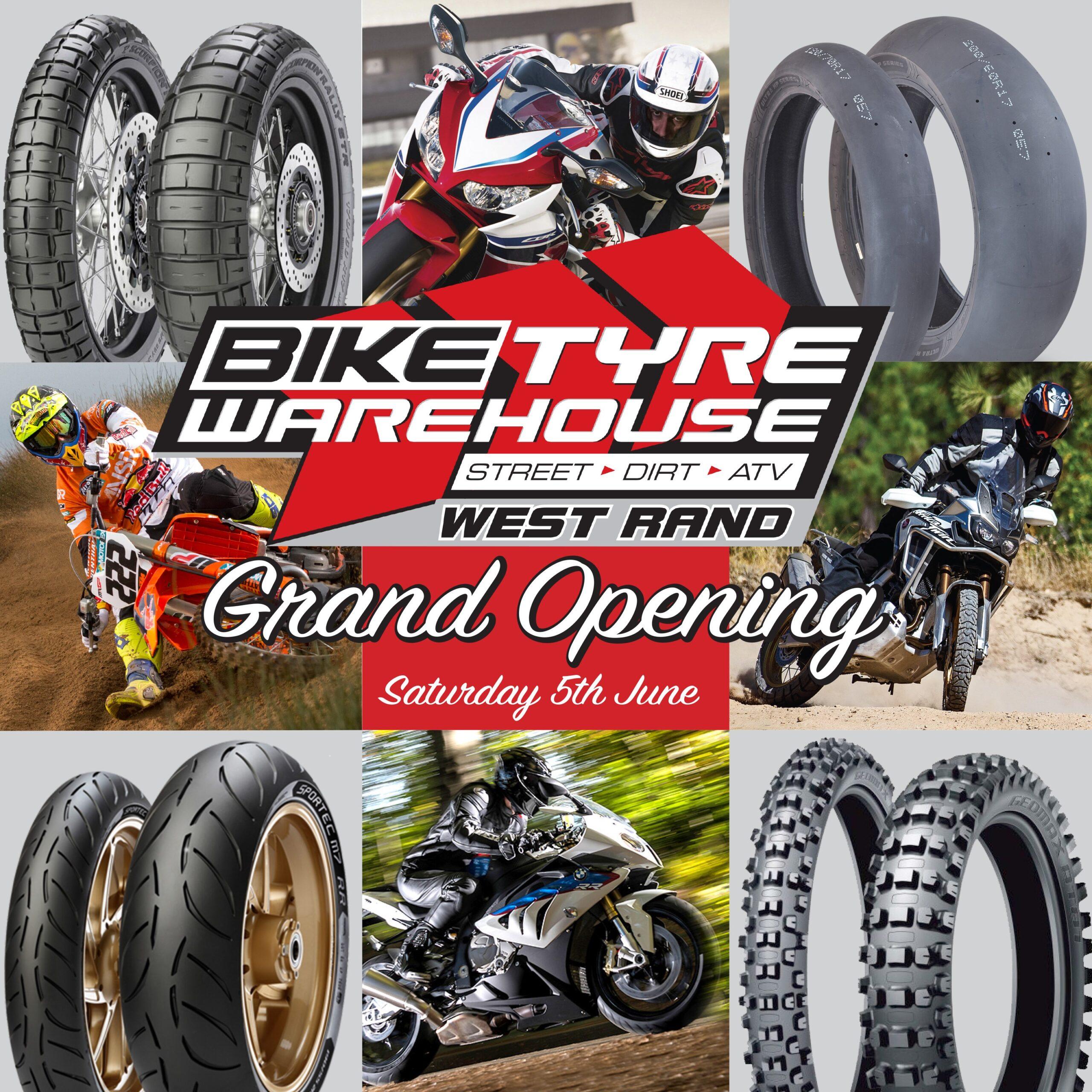 Bike Tyre Warehouse West Rand Opening