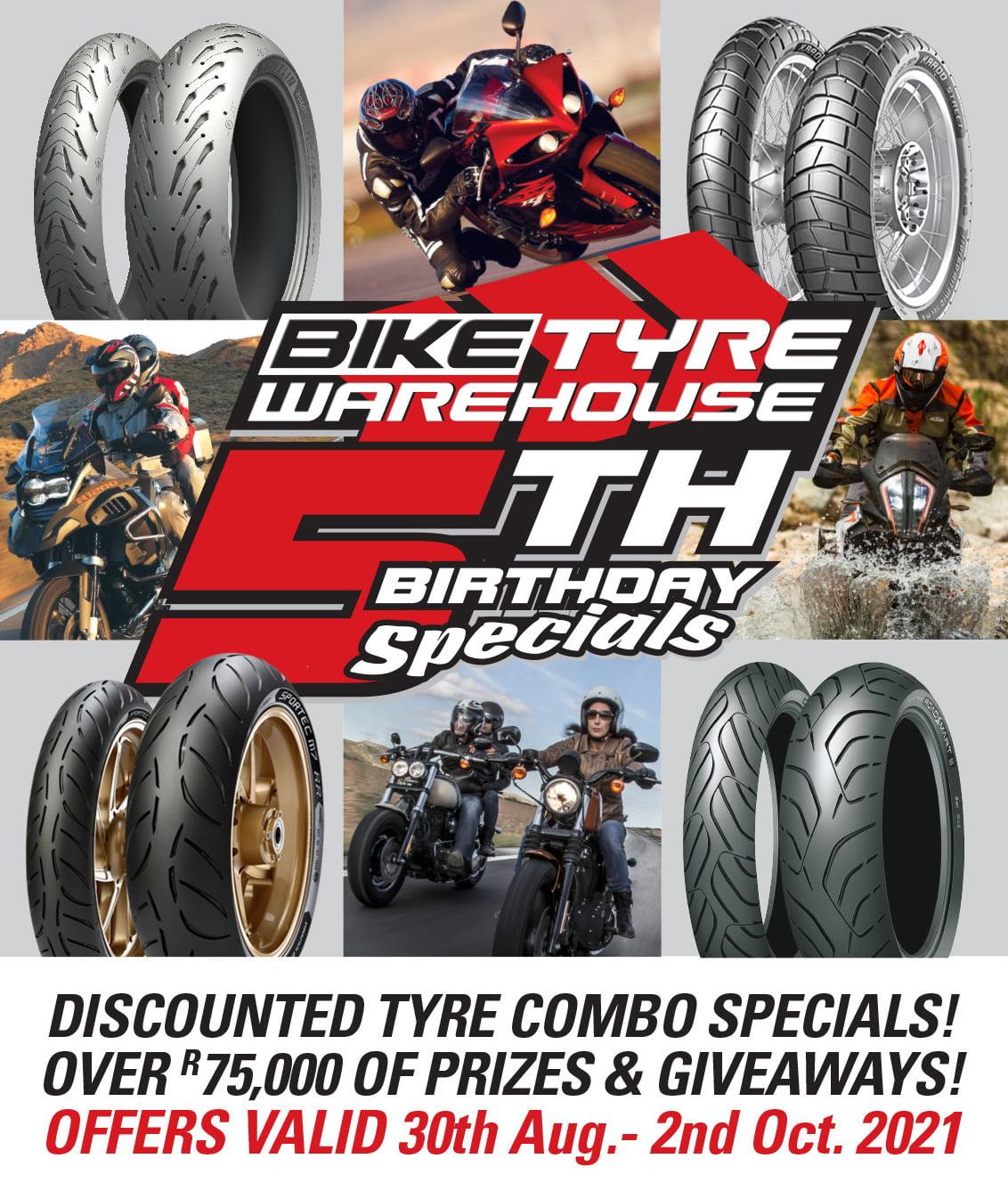 Bike Tyre Warehouse 5th Birthday Poster 001